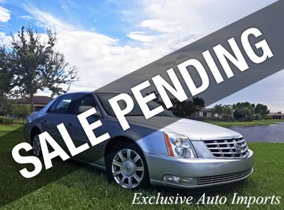 2009 Cadillac DTS 2009 CADILLAC DTS V8 SEDAN AUTOMATIC 1SA + 1SZ PACKAGE