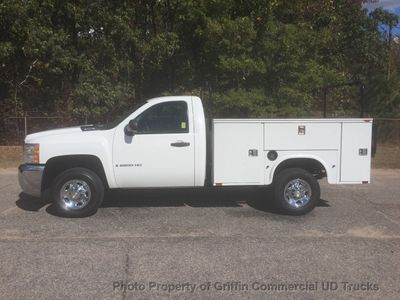 2009 Chevrolet 2500HD UTILITY TOMMY GATE JUST 29K MILES REAR LIFTGATE LADDER RACKS