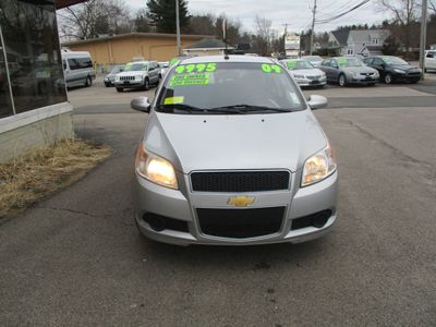 2009 Chevrolet Aveo 4dr Sedan LT w/1LT - Click to see full-size photo viewer