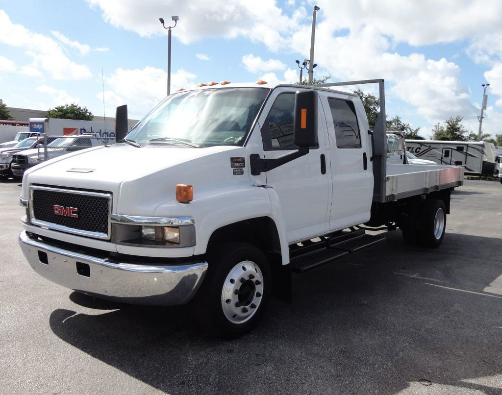2009 Chevrolet C5500 CREW CAB.. 12FT STEEL FLATBED - 17964154 - 0