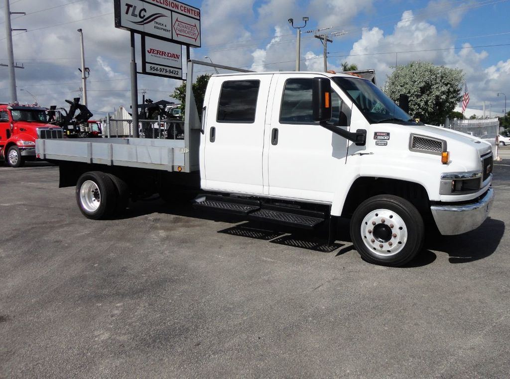 2009 Chevrolet C5500 CREW CAB.. 12FT STEEL FLATBED - 17964154 - 4