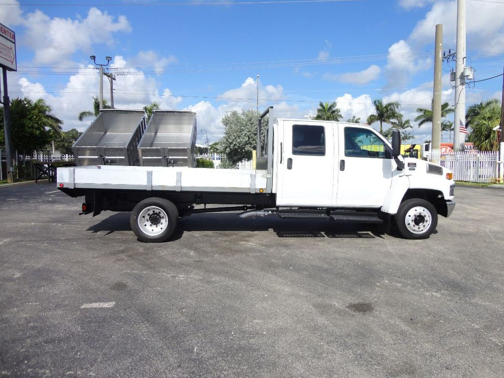 2009 Chevrolet C5500 CREW CAB.. 12FT STEEL FLATBED - 17964154 - 5