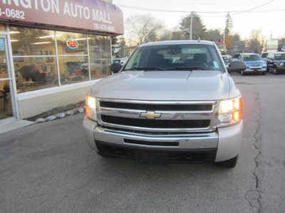 "2009 Chevrolet Silverado 1500 4WD Crew Cab 143.5"" LT - Click to see full-size photo viewer"