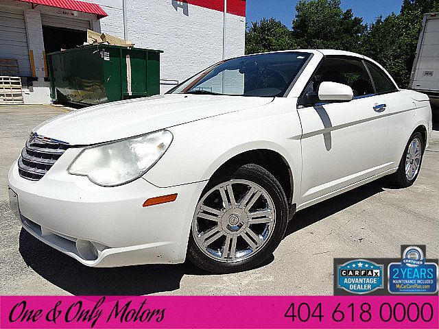 2009 Used Chrysler Sebring 2dr Convertible Limited At One And Only Motors Serving Doraville Ga Iid 18977582