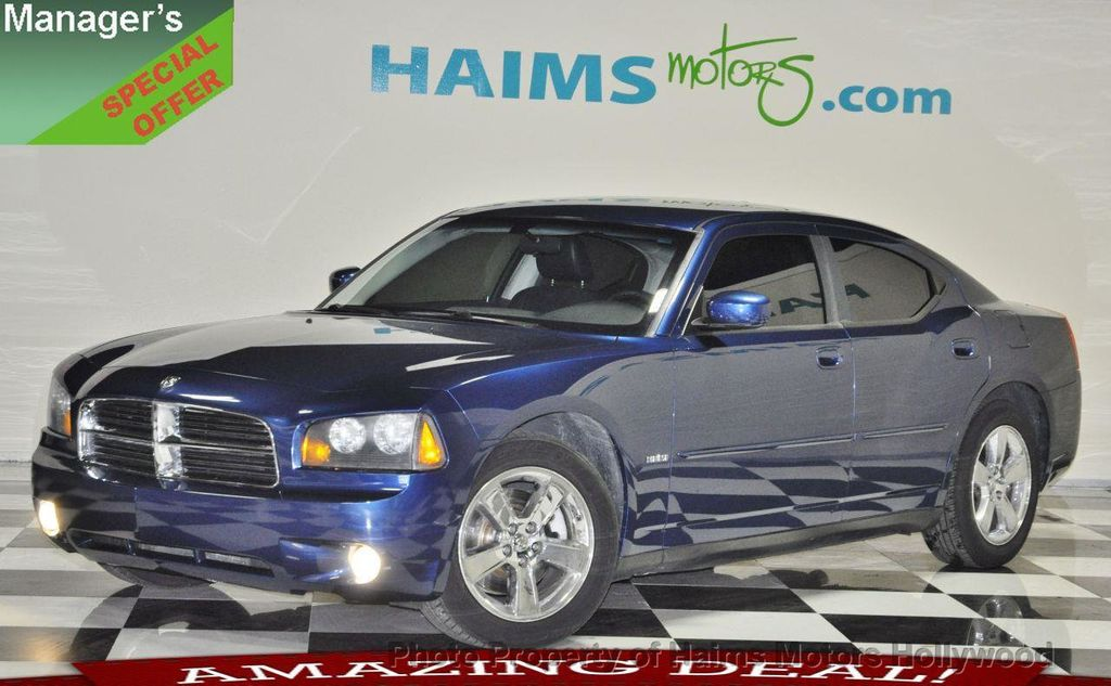 2009 used dodge charger 4dr sedan r t rwd at haims motors. Black Bedroom Furniture Sets. Home Design Ideas