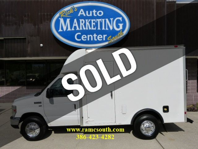 2009 Used Ford Econoline Commercial Cutaway 5 4l V8 Gas E 350 Srw 10ft Box Truck Extremely Low Miles At Rick S Auto Marketing Center South Serving New Smyrna Beach Daytona Beach Orlando Fl Iid 20260831