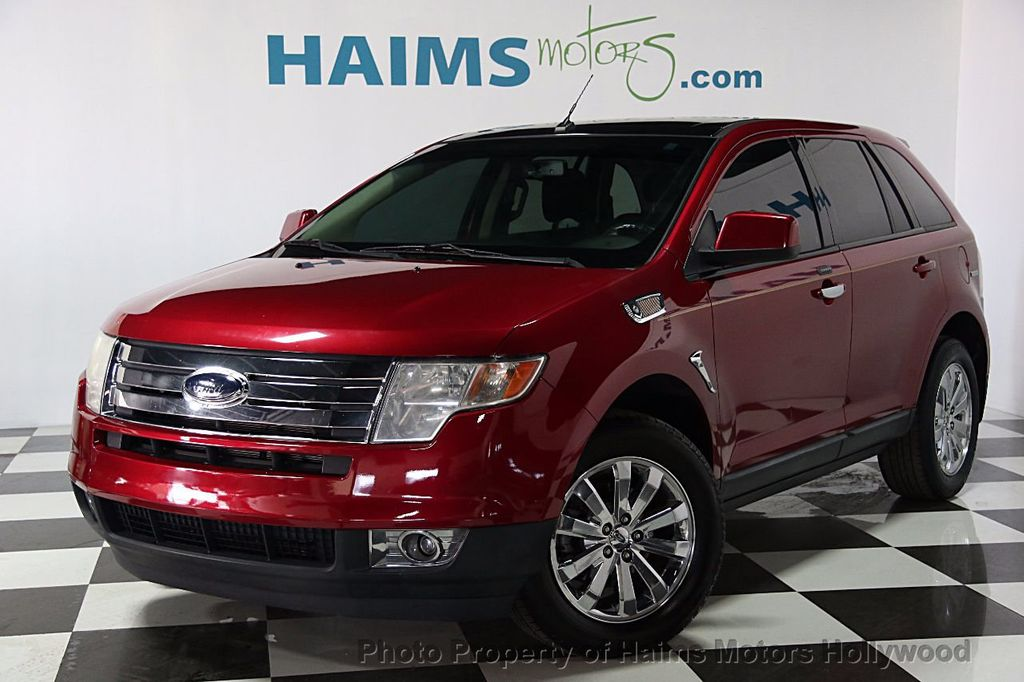 2009 used ford edge 4dr sel fwd at haims motors ft. Black Bedroom Furniture Sets. Home Design Ideas