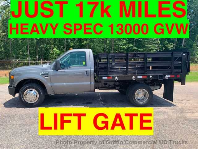 2009 Ford F350HD STAKE DRW JUST 17k MILES 1 OWNER TOMMY GATE HEAVY SPEC 13,000 GVW