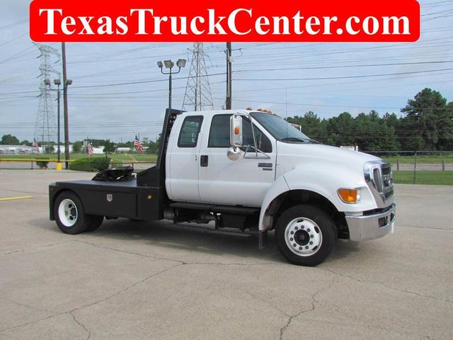 2009 Ford F650 Flatbed - 14498607 - 0
