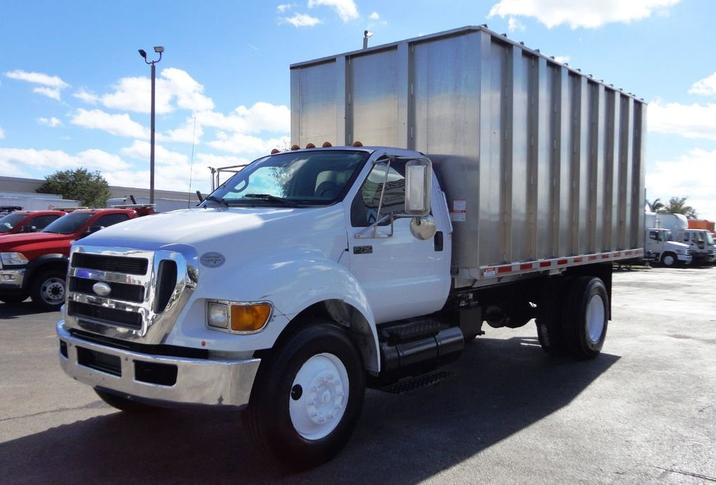2009 Ford F750 16FT ALUM CHIPPER DUMP TRUCK..*NEW*AD FAB DUMP BOX .. - 18489209 - 0