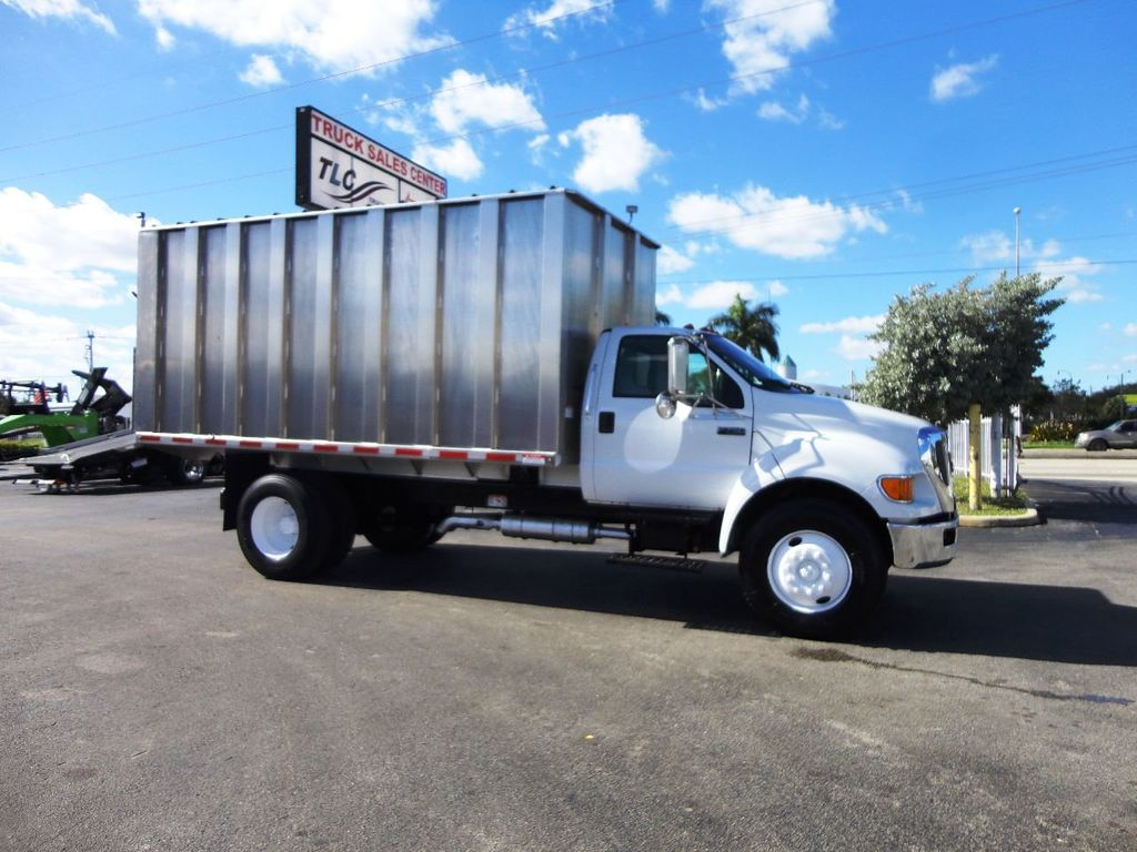 2009 Ford F750 16FT ALUM CHIPPER DUMP TRUCK..*NEW*AD FAB DUMP BOX .. - 18489209 - 9