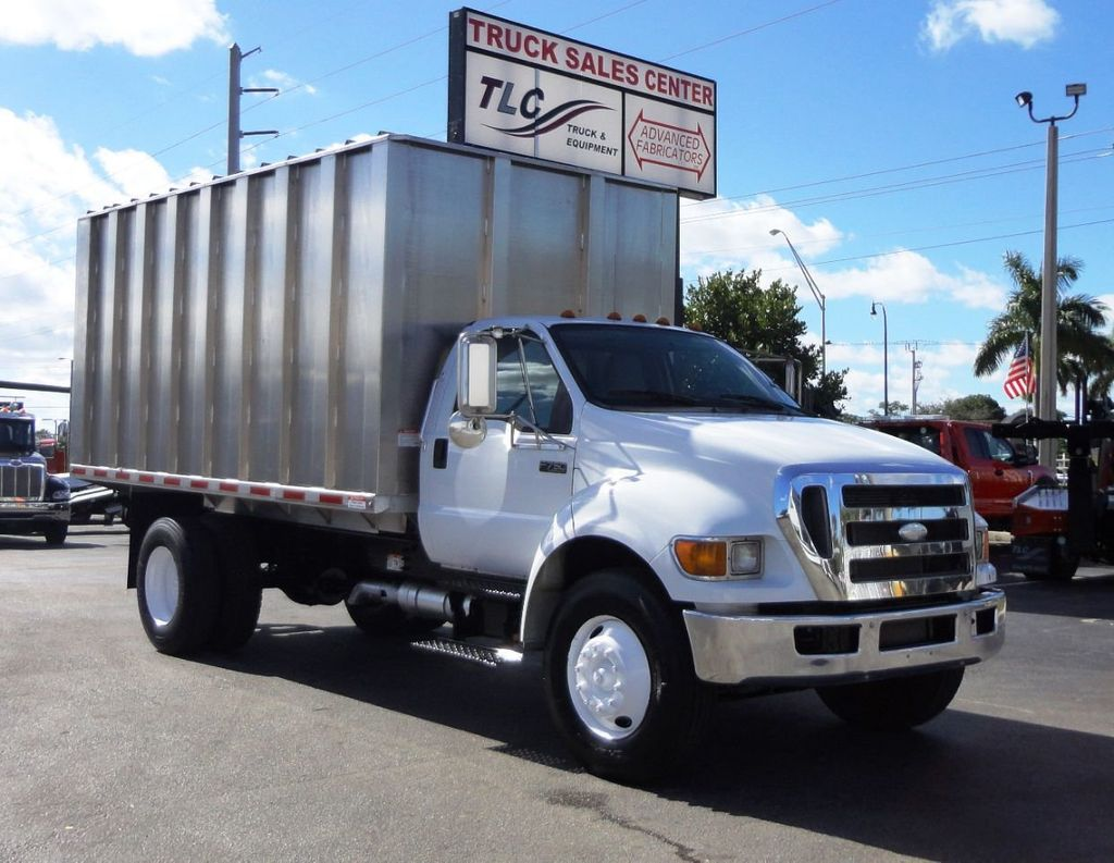 2009 Ford F750 16FT ALUM CHIPPER DUMP TRUCK..*NEW*AD FAB DUMP BOX .. - 18489209 - 10