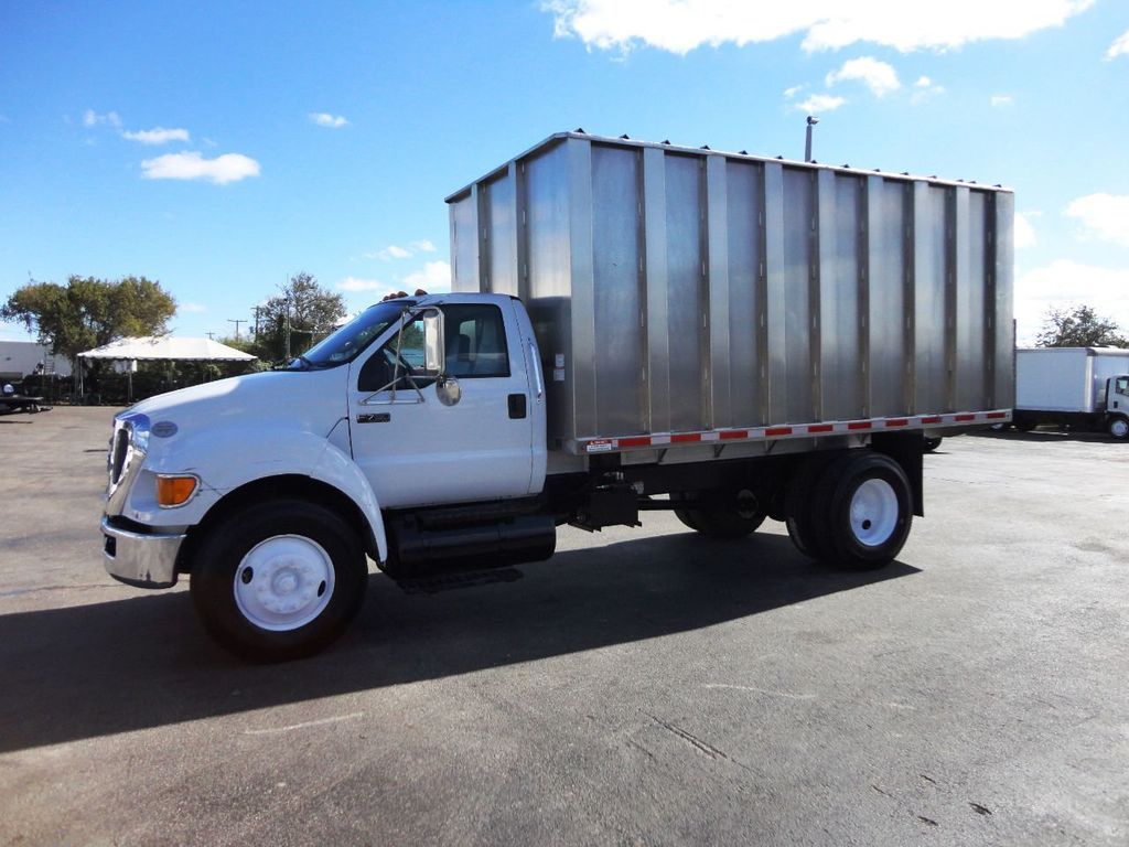 2009 Ford F750 16FT ALUM CHIPPER DUMP TRUCK..*NEW*AD FAB DUMP BOX .. - 18489209 - 1