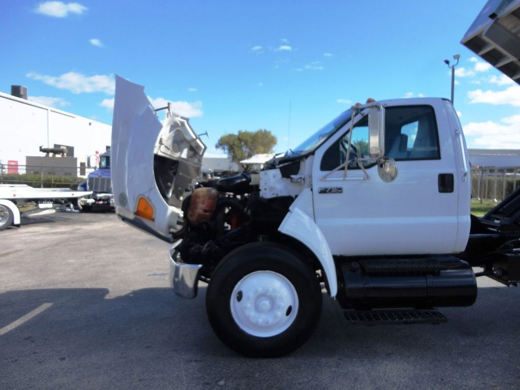 2009 Ford F750 16FT ALUM CHIPPER DUMP TRUCK..*NEW*AD FAB DUMP BOX .. - 18489209 - 22