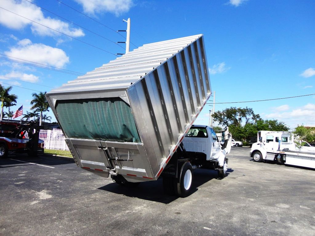 2009 Ford F750 16FT ALUM CHIPPER DUMP TRUCK..*NEW*AD FAB DUMP BOX .. - 18489209 - 26