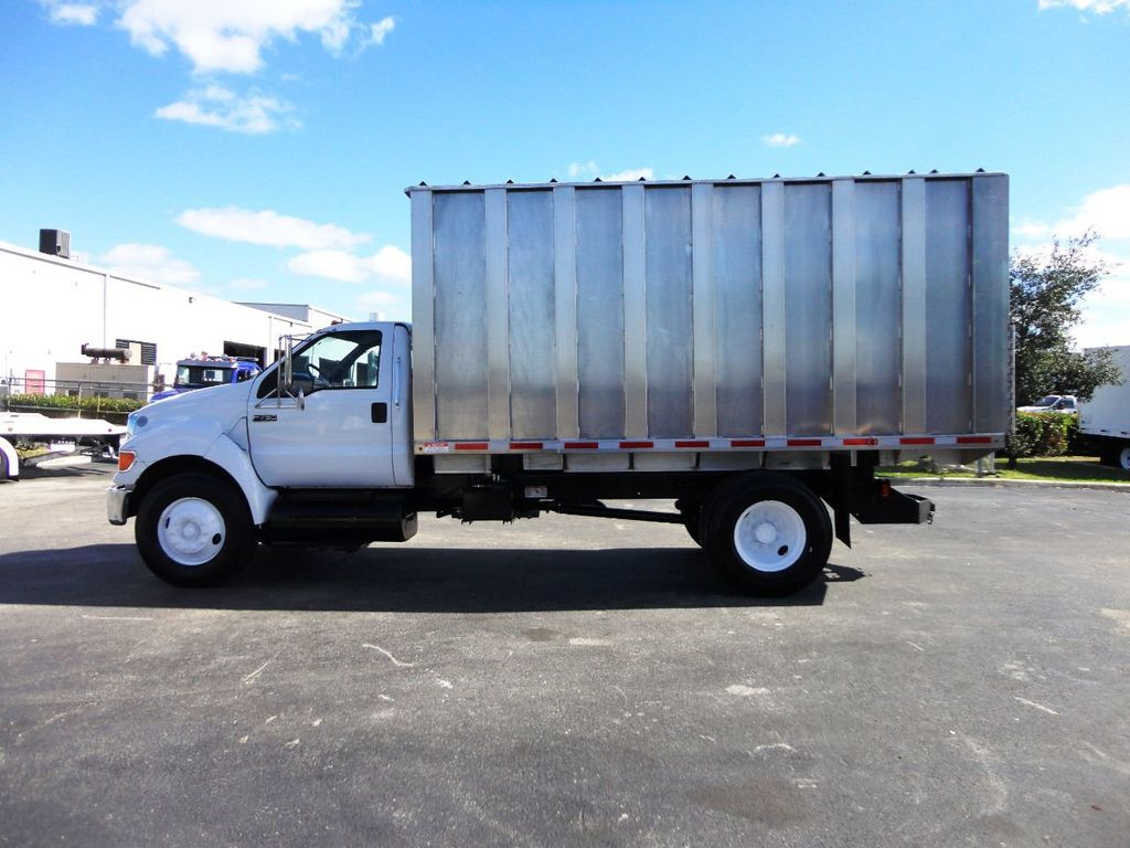 2009 Ford F750 16FT ALUM CHIPPER DUMP TRUCK..*NEW*AD FAB DUMP BOX .. - 18489209 - 2