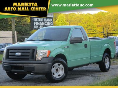 "2009 Ford F-150 2WD Reg Cab 145"" XL - Click to see full-size photo viewer"