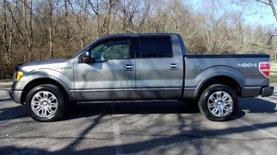 "2009 Ford F-150 4WD SuperCrew 145"" Platinum Truck"