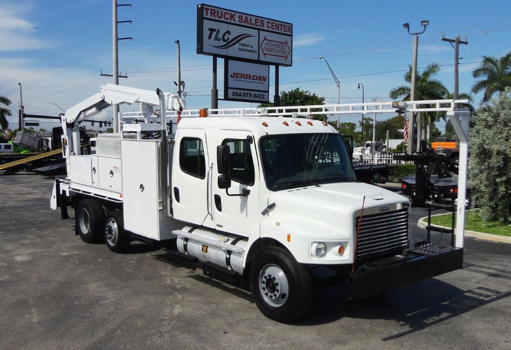 2009 Freightliner BUSINESS CLASS M2 31FT CRANE, STELLAR 60MH 6000LB..CREWCAB HD - 19193683 - 0