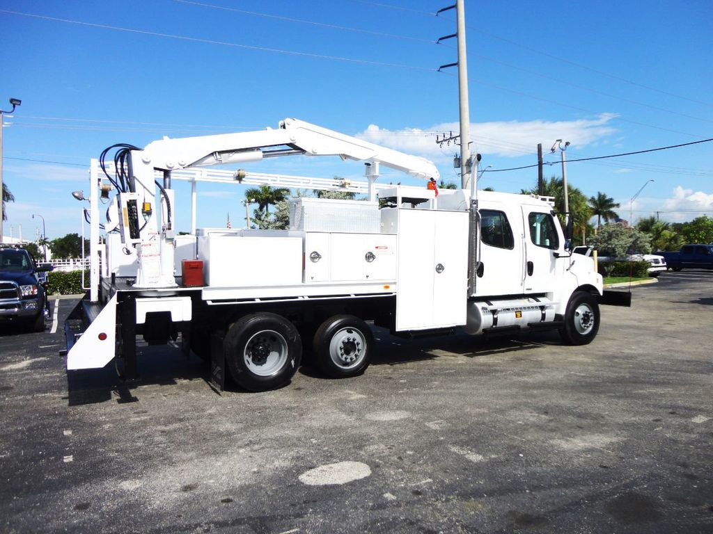 2009 Freightliner BUSINESS CLASS M2 31FT CRANE, STELLAR 60MH 6000LB..CREWCAB HD - 19193683 - 9