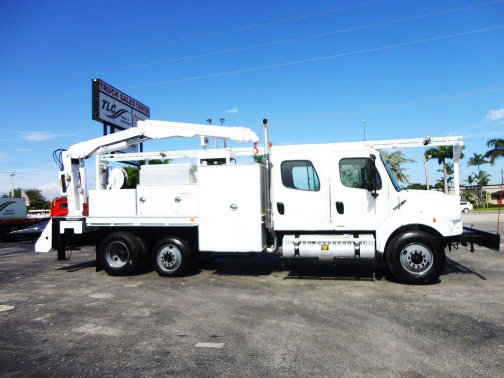 2009 Freightliner BUSINESS CLASS M2 31FT CRANE, STELLAR 60MH 6000LB..CREWCAB HD - 19193683 - 10