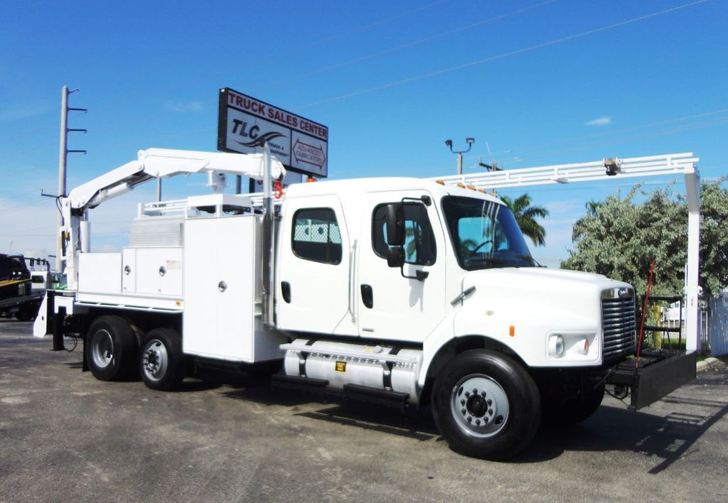 2009 Freightliner BUSINESS CLASS M2 31FT CRANE, STELLAR 60MH 6000LB..CREWCAB HD - 19193683 - 11