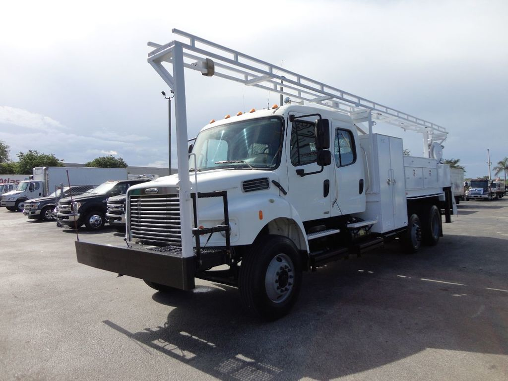 2009 Freightliner BUSINESS CLASS M2 31FT CRANE, STELLAR 60MH 6000LB..CREWCAB HD - 19193683 - 3