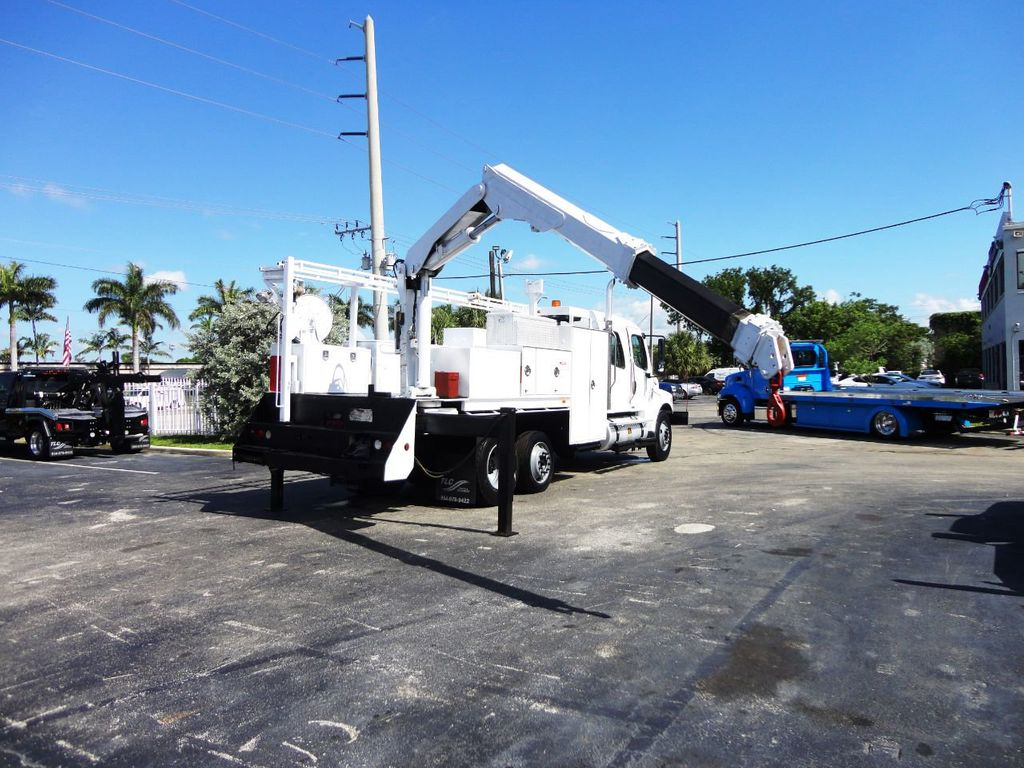 2009 Freightliner BUSINESS CLASS M2 31FT CRANE, STELLAR 60MH 6000LB..CREWCAB HD - 19193683 - 45