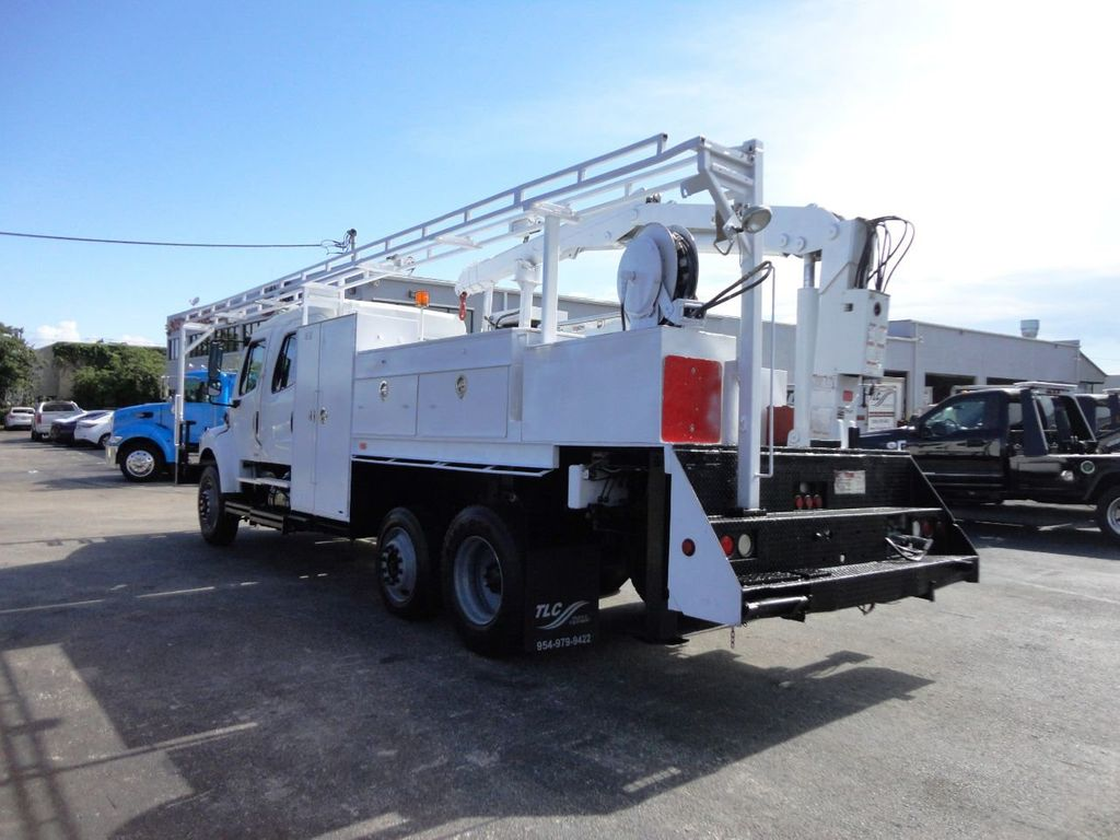 2009 Freightliner BUSINESS CLASS M2 31FT CRANE, STELLAR 60MH 6000LB..CREWCAB HD - 19193683 - 6