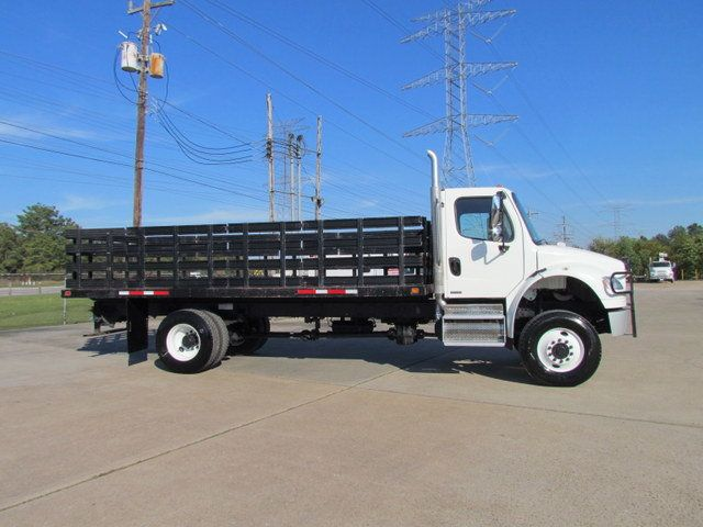 2009 Freightliner Business Class M2 106 Flatbed - 13954106 - 13