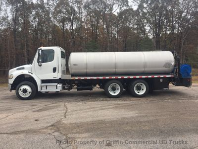 2009 Freightliner TANKER SPRAY TRUCK DUAL PTO PUMPS BAFFLED TANK - Click to see full-size photo viewer