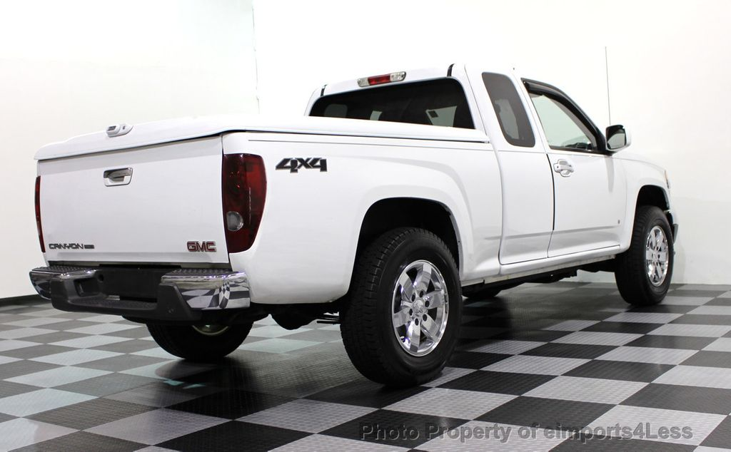 2009 GMC Canyon CANYON SLE 4X4 EXTENDED CAB  - 16836230 - 48