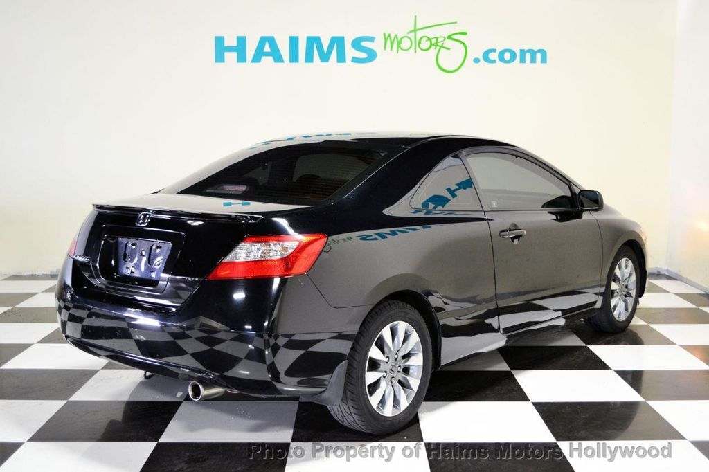 2009 used honda civic coupe 2dr automatic ex at haims motors serving fort lauderdale hollywood. Black Bedroom Furniture Sets. Home Design Ideas