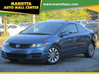 2009 Honda Civic Coupe 2dr Automatic EX