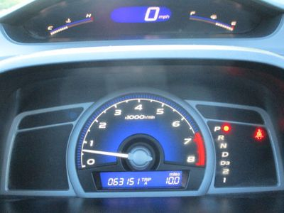 2009 Honda Civic Coupe 2dr Automatic EX - Click to see full-size photo viewer