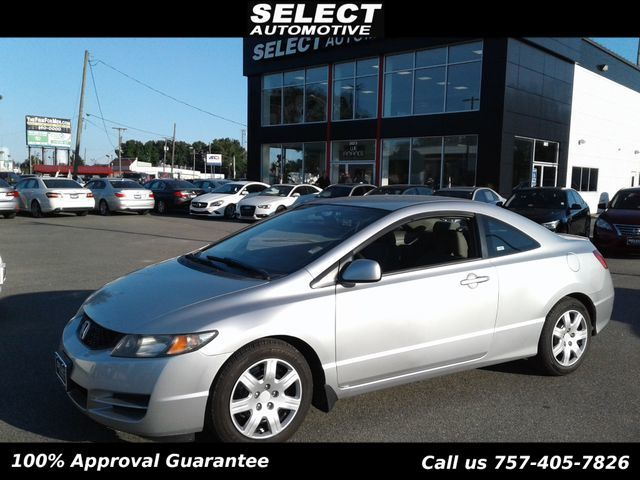 Amazing 2009 Honda Civic Coupe LX Coupe   2HGFG11619H525626   0
