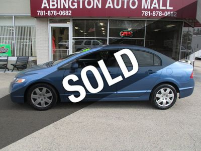 2009 Honda Civic Sedan 4dr Automatic LX