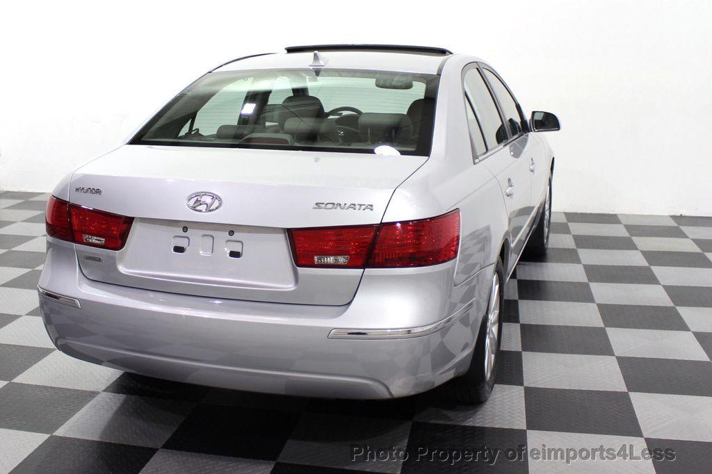 2009 Hyundai Sonata CERTIFIED SONATA LIMITED - 18130107 - 46