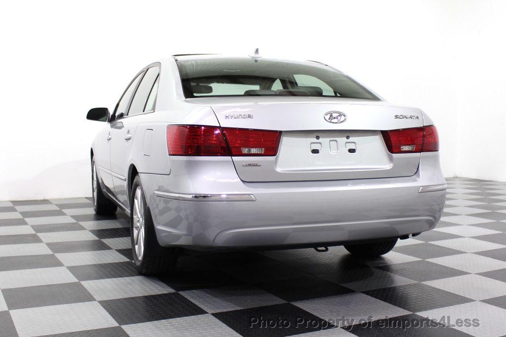 2009 Hyundai Sonata CERTIFIED SONATA LIMITED - 18130107 - 52