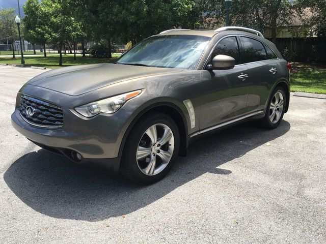 2009 Used Infiniti Fx35 Awd 4dr At A Luxury Autos Serving Miramar