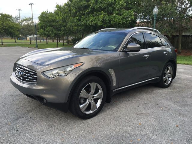 2009 Used Infiniti Fx35 Rwd 4dr At A Luxury Autos Serving Miramar