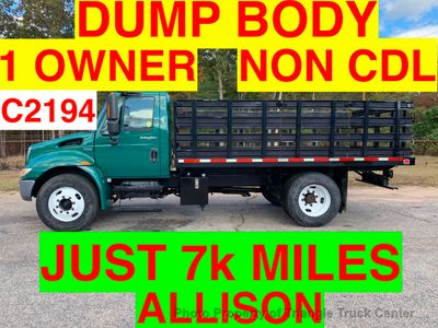 2009 International DUMP BODY JUST 7k MILES NON CDL UNDER 26,000 GVW ONE OWNER SOUTHERN TRUCK!! ONE OWNER