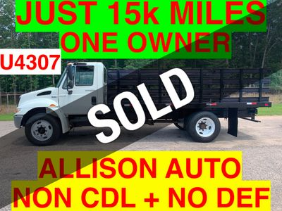 2009 International JUST 15K MILES! NON CDL UNDER 26K GVW ONE OWNER VA TRUCK! CRUISE CONTROL!!