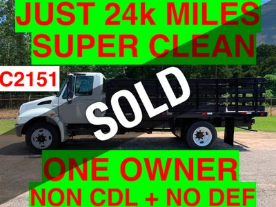 2009 International JUST 24K MILES NON CDL UNDER 26K GVW ONE OWNER SC TRUCK!! ALLISON AUTO