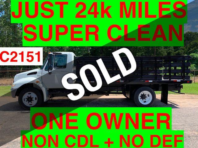 2009 International JUST 24K MILES NON CDL UNDER 26K GVW ONE OWNER SC TRUCK!! ALLISON AUTO