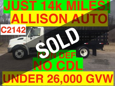2009 International NON CDL RACK JUST 14k MILES ALLISON AUTO ONE OWNER SOUTHERN TRUCK!! SUPER CLEAN