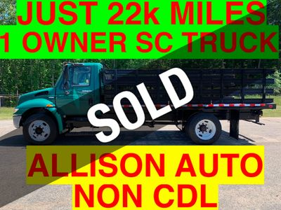 2009 International NON CDL SRAKE RACK JUST 22k MILES ONE OWNER ONE OWNER SC TRUCK! - Click to see full-size photo viewer