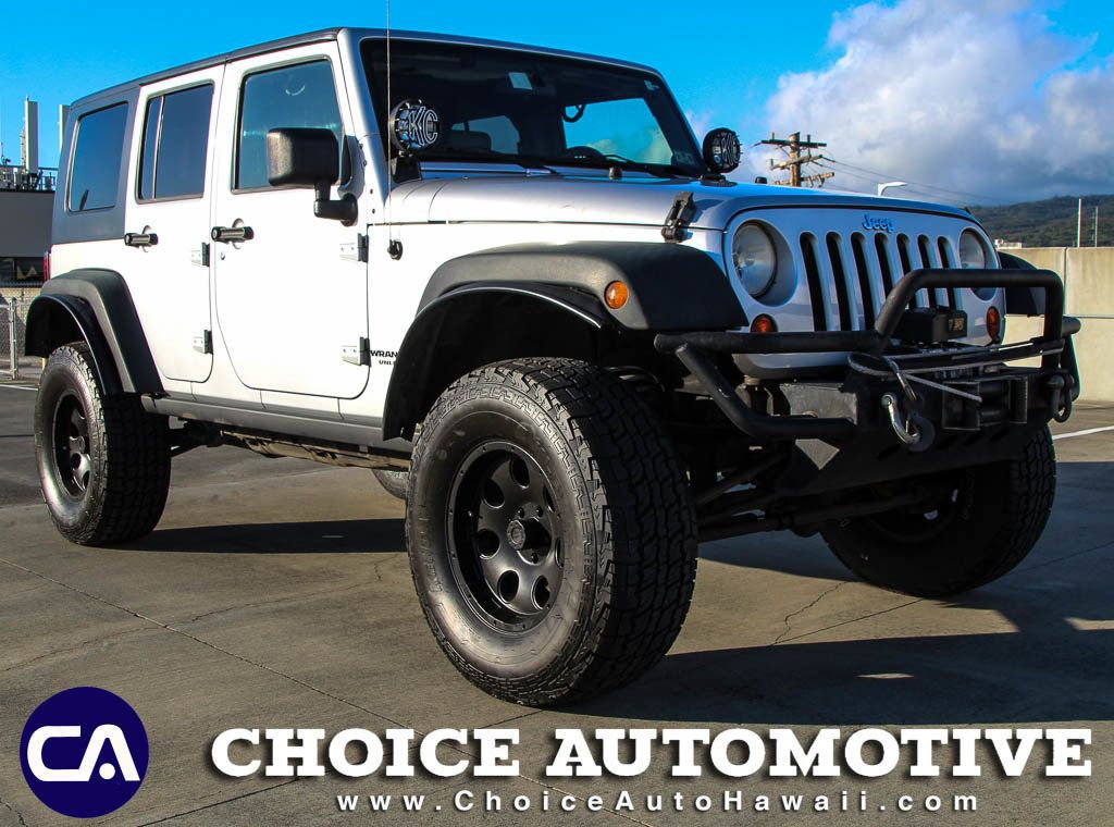 2009 Jeep Wrangler Unlimited Rubicon 4x4 For Sale at