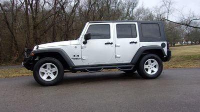 2009 Jeep Wrangler Unlimited 4WD 4dr X SUV