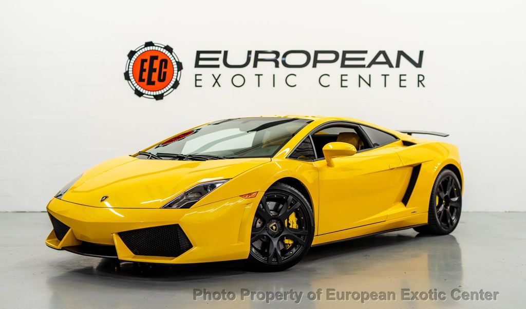 2009 Used Lamborghini Gallardo 2dr Coupe Lp560 4 At European Exotic